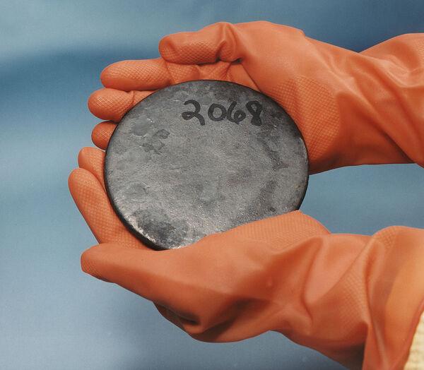 enriched uranium-235