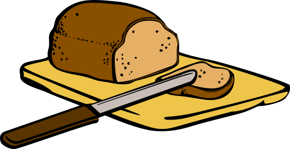 Bread and a knife