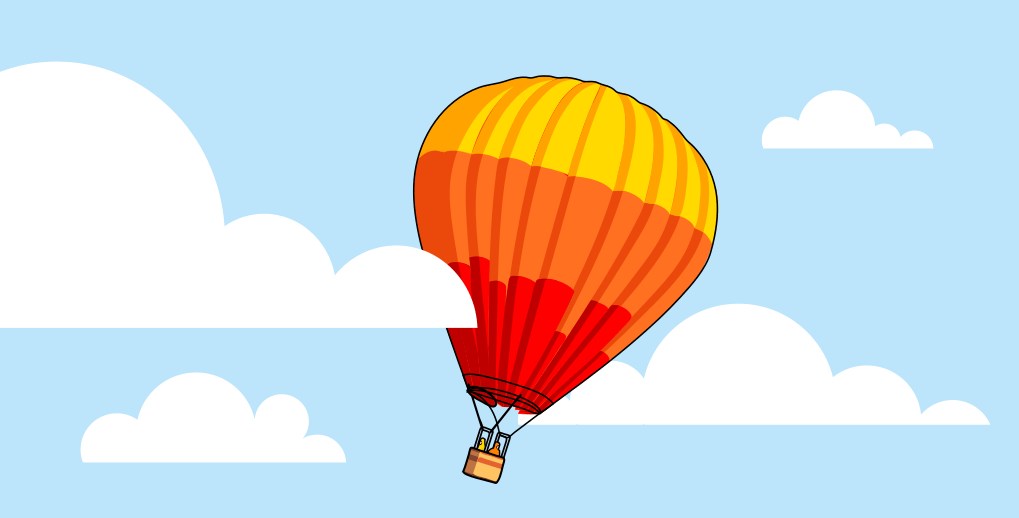 Hot air balloon is an example of Charles's law
