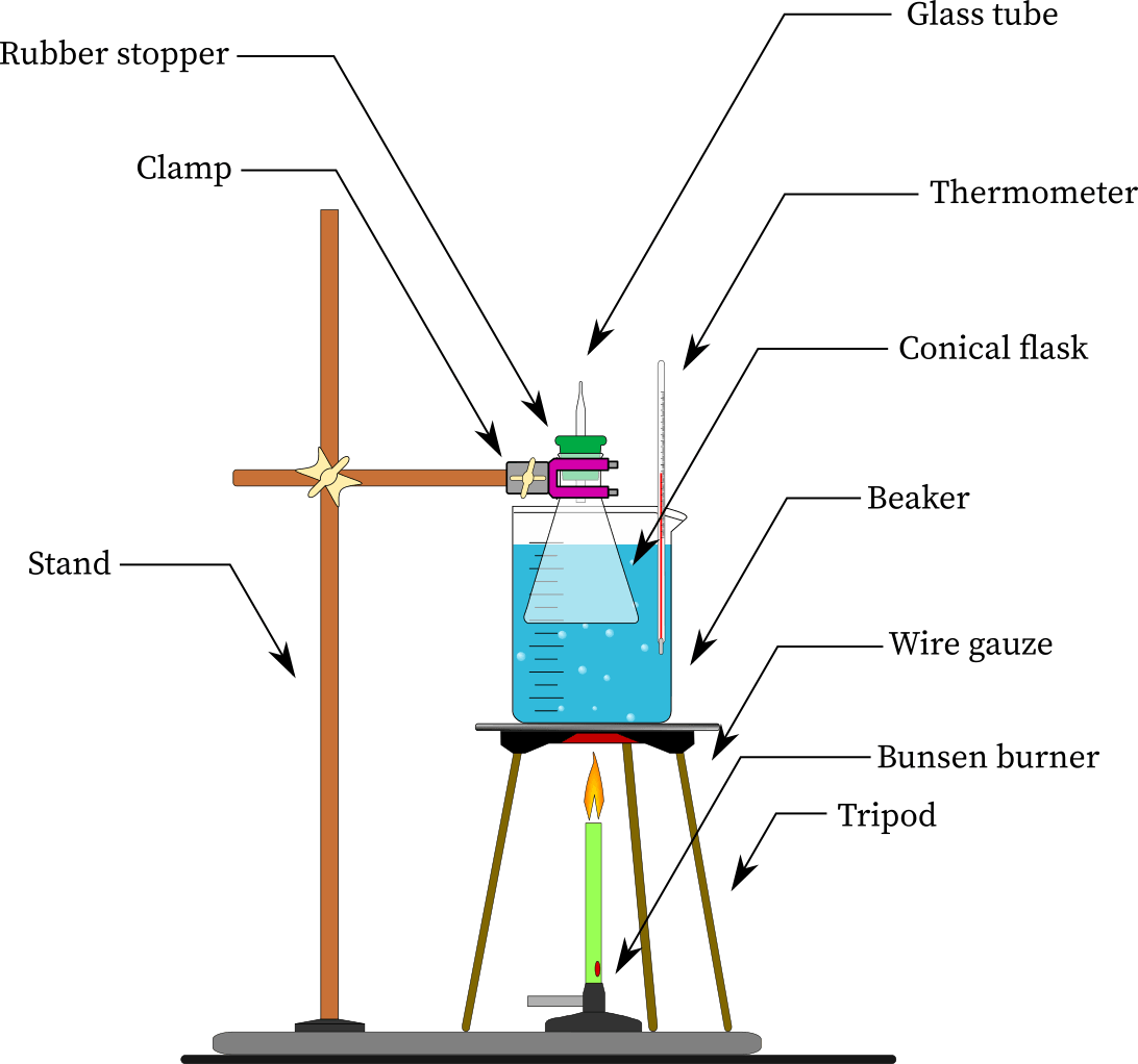 Charles's law experiment