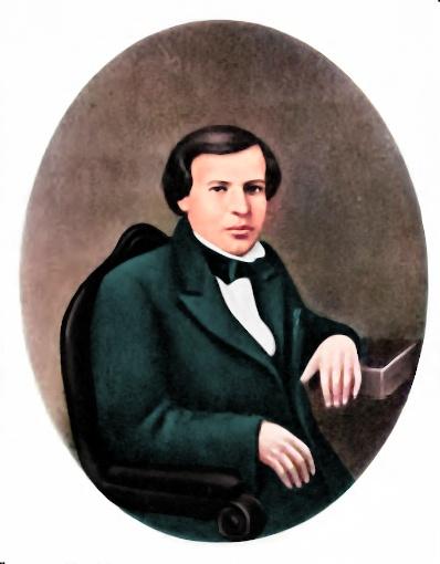 Dmitri Mendeleev in 1855