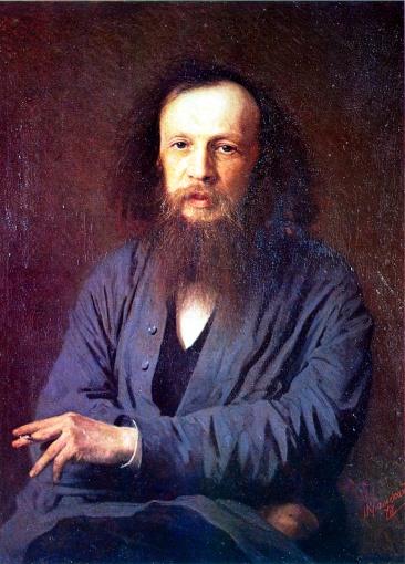 Dmitri Mendeleev in 1878