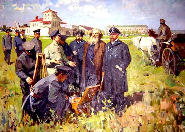 Dmitri Mendeleev in 1888
