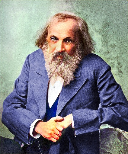 Dmitri Mendeleev in 1880s