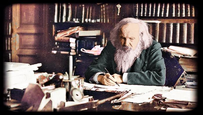 Dmitri Mendeleev in 1904