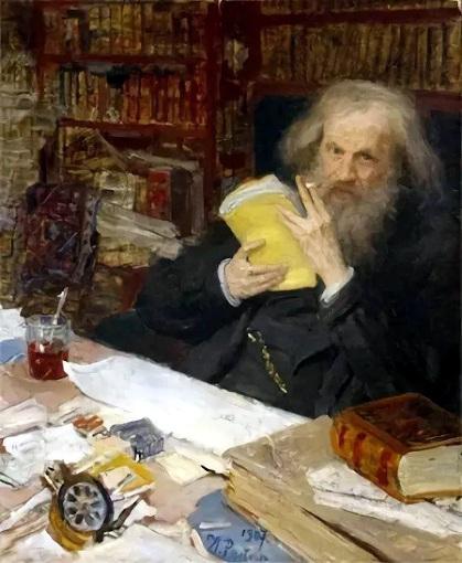 Dmitri Mendeleev in 1907