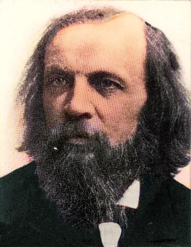 Dmitri Mendeleev in his old age