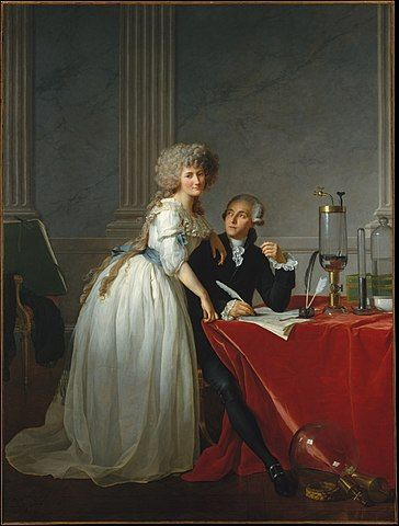 Portrait of Antoine Lavoisier and His Wife