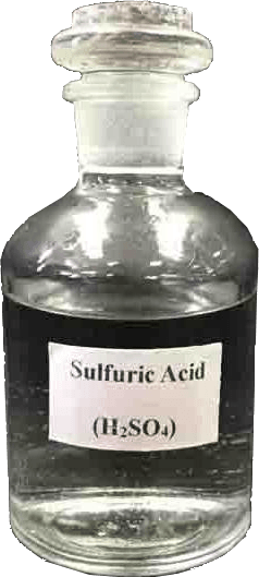 Sulphuric acid bottle