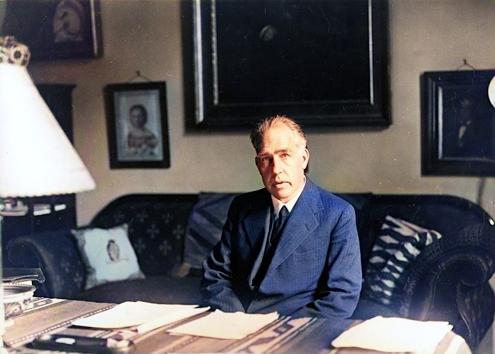 Niels Bohr in 1935