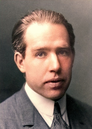 A portrait of Niels Bohr