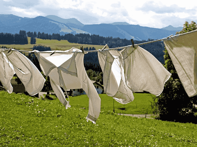 Drying is a physical change.