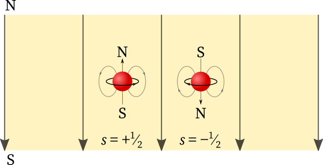Electrons in an external magnetic field